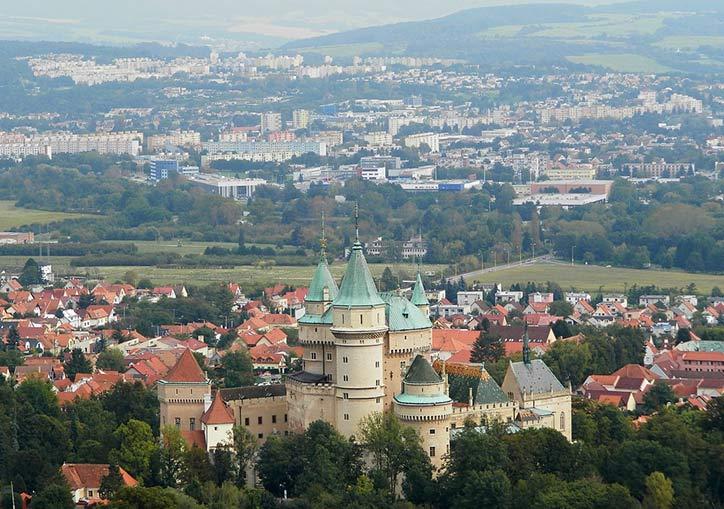 Бойницкий замок Словакия