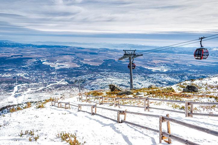 Погода в Словакии в феврале